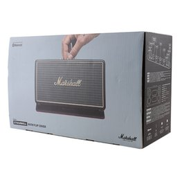 Wholesale Flip Speakers - Marshall STOCKWELL Bluetooth Speakers With Flip Cover Case Wireless Speakers with retail box DHL Free AAA+ Quality