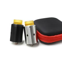 Wholesale Used E Cigarette - CETO RDA Atomizer E Cigarettes Vaporizer 24mm RDA Compatible 810 Driptip Using Heating Net With Squnok Pin Screw All In One RDA