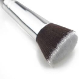 Wholesale Flat Top Brushes - Pro Women Cosmetic Brushes Kabuki Powder Blush Foundation Face Eye Shadow Flat Top Makeup Beauty Tool