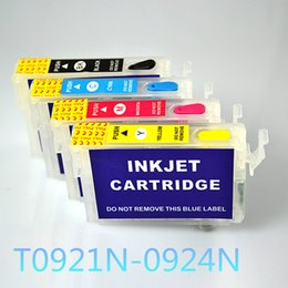 Wholesale Empty Refill Ink Cartridge - 92N T0921 Empty Refill Ink cartridge For EPSON Stylus T27 C91 CX4300 T26 TX106 TX109 TX117 TX119 printers with ARC CHIP