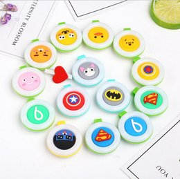 Wholesale Colorful Cute Cartoon - Mosquito Repellent Badge Button Buckle Colorful Cartoon Cute Baby Pregnant Woman Mosquito Repellent Clip 13 Designs 1000pcs OOA2041