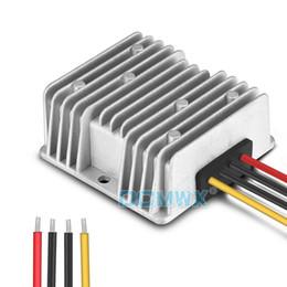 Wholesale Voltage Adapters Converters - DC DC 12V to DC24V boost converter DCMWX® 9V-23V to 24V15A360W step-up moudle car power supply Adapter 12V raise voltage 24V inverter