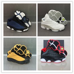 Wholesale Pure Gold Pink - 2017 Retro 13 Low Basketball Shoes Pure Money Brave Blue Chutney Basketball Boot Top Qaulity Retro XIII Black Red Sport Sneakers