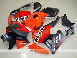 Wholesale Cbr Repsol Body Kit - New fairings kits body kit for HONDA CBR600RR F5 2005 2006 CBR 600 RR 05 06 CBR600 600RR motorcycle fairing set repsol Racing