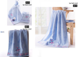 Wholesale Embroidery Hand Towel - Top Brand Quality Soft Bath Towel Set 100% cotton Embroidery Lady Bathing Towels