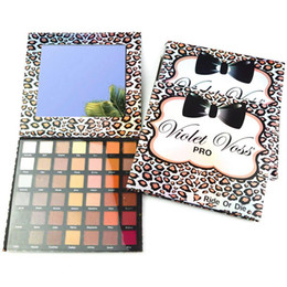 Wholesale Eye Shadow Colours - Whosale !!! 2017 Violet Voss Ride Or Die 42 colour eye shadow palette brighten and natural free shipping