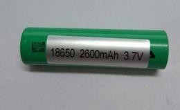 Wholesale Digital E Cigarette - 3.7V US18650 VTC5 2600mAh 30A Rechargeable Li-on 18650 Battery 1:1 for Sony Fit E-Cigarette Mod LED Torch Digital Camera Free DHL