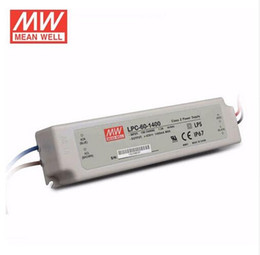 Wholesale Meanwell Switching Power Supply - Meanwell LPC-60-1400 Switching power supply LED driver constant current Single output 60W 1400mA for 1pcs Cob Cree CXB3590 led