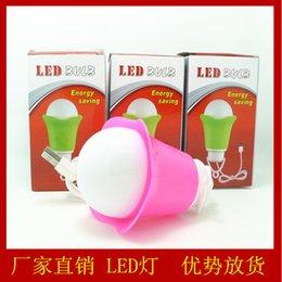 Wholesale Led Spotlights Purple - USB bulb with line LED bulb mini bulb Nightlight with line LED emergency lighting