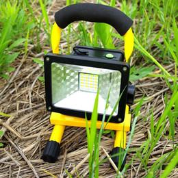 Потолочные светильники онлайн-30W 24 LED Flood Light Портативный Открытый водонепроницаемый IP65 Аварийный светильник свет работы NO UV или иК LEG_80I
