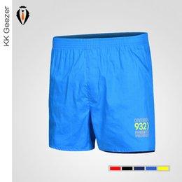 Wholesale Boxer Shorts Trousers - Wholesale-1 Pcs Men Casual Beach Shorts Boxers Cotton Breathable Summer Fashion Waist Shorts Joggers Trousers Solid Elastic Shorts