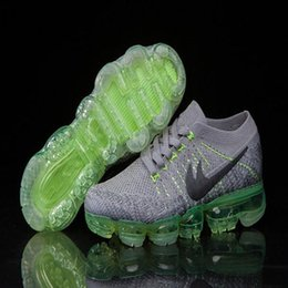 Wholesale Real True - 2017 New Rainbow VaporMax 2018 BE TRUE Men Woman Shock Running Shoes For Real Quality Fashion Men Casual Vapor Maxes Sports Sneakers