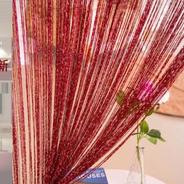 Argentina Cortinas de borla Accesorios de boda No envuelto alrededor de la decoración de fondo Partición decorativa por encargo Techo más plata Suministro