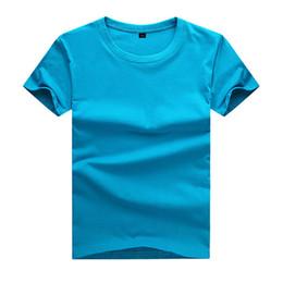 Wholesale Plain Shirts Kids - 2017 Summer Top quality boys girls plain red t shirt for kids toddler big boy clothing children cotton children t shirt Soft and comfortable