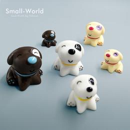 Assis Chien jouet Miniature Figurine Bonsaï Décoration mini fée jardin animal statue résine artisanat Maison Voiture Ornement cadeau TNA026 ? partir de fabricateur