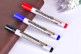 Marqueur à tableau blanc, 3 couleurs de bleu rouge noir, vendu en 10 pièces par boîte, ? partir de fabricateur