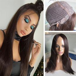 cheveux européens vierges de qualité Promotion Meilleur Sheitels Couleur 2 Européenne Vierge Cheveux Humains Haute Qualité Soie Droite Finest Hair Kosher Perruques Livraison Gratuite