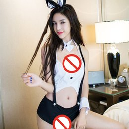 Wholesale Sexy Cosplay Sex - Women Sexy lingerie Sexy Underwear cosplay rabbit uniforms dress Exotic lingerie sex products Role Playing Lingerie Sets