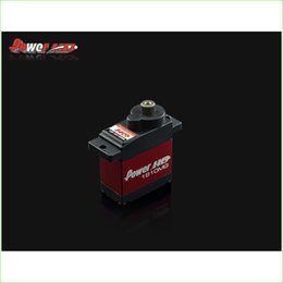 Wholesale Micro Servos - Digital servos Power HD Micro Digital Servo 3.9kg 15.8g HD-1810MG with Aluminum Case for Flybarless 450 Helicopter