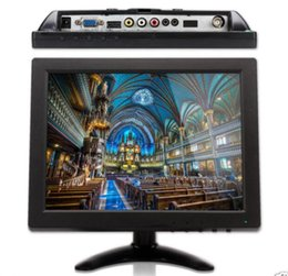 Wholesale Mini Monitor Inch - 10 inch LCD HDMI BNC Mini CCTV Color Monitor Screen for PC Surveillance Camera
