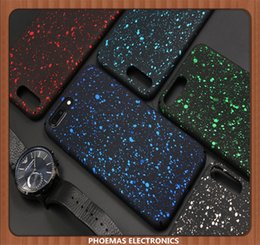 Wholesale Flow Case - For Samsung S8 S8plus Case ultrathin Bling Stars and Glitter Flowing Hard Cover Case For iphone 6 6S 8 8plus protectitve phone case