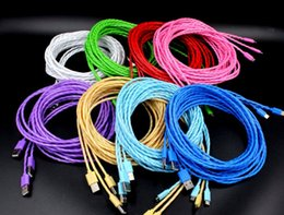 Wholesale Sweets Candies Colorful - 3FT 10FT 3m Fresh Sweet Smell Candy Jelly Colorful Efficient Charge Micro USB Cable for all Android system xiaomi HTC Samsung Sony LG