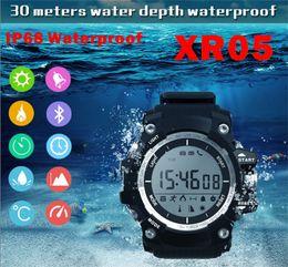 Wholesale Air Pressure Kids - XR05 Waterproof Smart Watch Sports Healthy Watch Bluetooth Phone Connecter Watches Ultraviolet Altitude Air Pressure Smartwatch