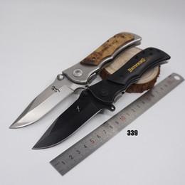 2019 regalos patriotas Cuchillo de Browning de gran tamaño 337/338/339 Cuchillos de supervivencia táctica 440C Cuchillo de bolsillo de la cuchilla de bolsillo que acampa del camping Ourdoor Hunting Fishing EDC Tool
