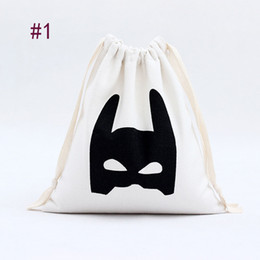 Wholesale Baby Batman Toys - Cute Baby Toys Storage Canvas Bags Batman Bear Pattern Laundry Bag Pouch,Baby Kids Toys Storage Bag Cute Wall Pocket
