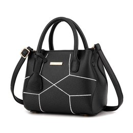 Wholesale Stereotypes Handbags - New Arrival Female Handbags Elegant Tote Fashion Brand Designer Socialite Serpentine Stereotypes Shoulder Bags Patchwork High Quality