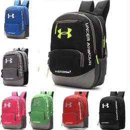 Wholesale Wholesale Japan Fashion Bags - Fashion UA Backpack Casual Under Hiking Camping Shoulders Unisex Backpacks Waterproof Travel Outdoor Armor Bag Teenager School Shoulder Bags