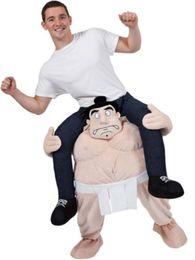 Wholesale Funny Cartoon Movies - Cartoon characters Funny Wacky pants Stuffed Ride On Me Stag Mascot Carry Piggyback Fancy Dress Costume Funny Wacky pants