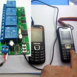 Wholesale smart home audio wholesale - Wholesale- 4 CH DTMF MT8870 Audio Decoder Smart Home Controller Voice Mobile Phone Remote Control swicth module