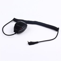 Wholesale Mic Baofeng Uv5r - Best Walkie Talkie Baofeng Speaker MIC For r Kenwood TYT Pofung Handheld UV5r UV-82 Bf-888s Bf 888s UV-5R Accessories Microphone