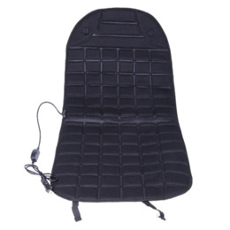 Wholesale 12v Seat Heater - Warm Car Seat Covers Cold Days Heated Cushion Seat Cover Auto Car 12V Electirc Seat Heater Heating Pad Black