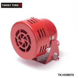 Wholesale Drive Motors 12v - Tansky - Universal New 12V Motor Driven Red Air Raid Siren Horn Alarm Horn Car Truck TK-HOM070