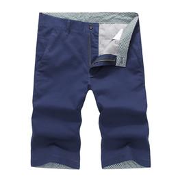 Wholesale Youth Pants Wholesale - Wholesale- Arrivals 2017 Men's Summer Cotton Shorts Men Casual Straight Fashion Shorts Youth 10Color Short Pants Male Khaki Beach Shorts 42