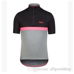 Wholesale Rapha Shorts - 2016 Cheep Rapha Cycling Jerseys Short Sleeves Summer Cycling Shirts Cycling Clothes Bike Wear Comfortable Breathable Hot New Rapha Jerseys