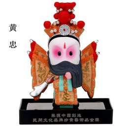Wholesale Vertical cartoon clay figurine Huang Zhong Oriental clay sculptures of the five craft creative Home Furnishing ornaments to send foreigners