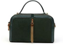 Wholesale Satchel Lady - 300-400 lady Genuine Calfskin Leather Satchel Shoulder Bag for women