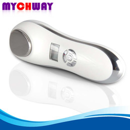 Wholesale Skin Care Beauty Machine Cold - Hot Sale Personal Use Daily Facial Care Handy Face Lifting Cold Hot Vibration Sonic Beauty Machine Travel Use