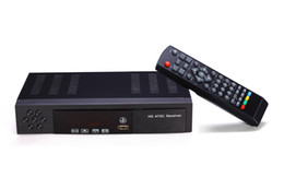 Wholesale Tv Tuners Atsc - 8902 HD PVR Digital MPG4 H.264 ATSC TV Tuner 1080P Chinese TV Box Receiver Support USB HDMI for Mexico USA Canada