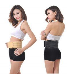 Wholesale Strap Massager - Magnetic Slimming Massager Belt Waist Lumbar Brace Belt Strap Backache Pain Relief Belt Strap Backache Relief Massage KKA1999
