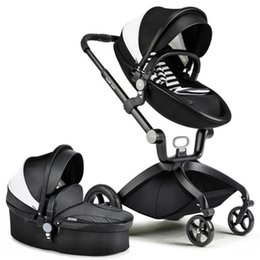 Atacado-Europeu Folding Luxo Baby Umbrella Car Carriage Kid marca Buggy Stroller Pram Estilo Vagão de Viagem portátil Leve hotmom de
