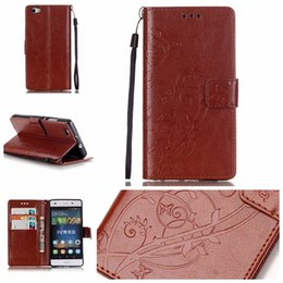 Wholesale Huawei Ascend Flip Case - Huawei P8 Lite Case - Luxury PU Leather Wallet Shockproof Case for Huawei Ascend P8 Lite Flip Bracket Cover with retail package