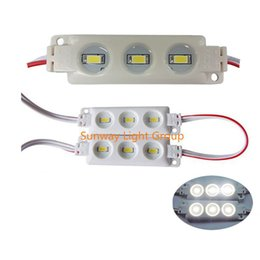 Wholesale Advertising Lights - 2016 New Arrival cree 5630 SMD 3leds injection led modules ip65 12V DC LED Advertise letter led Sign Light lighting 1.5w