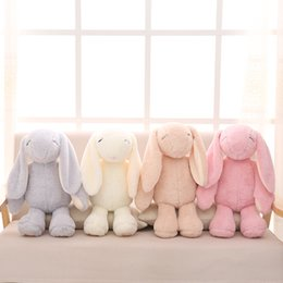 Wholesale Wedding Dolls Animals - New Bonnie Mimi Rabbit Big Long Bunny Plush Toy Rabbit Grabie Wedding Soup Doll Girl Bedroom Decoration DHL free shipping