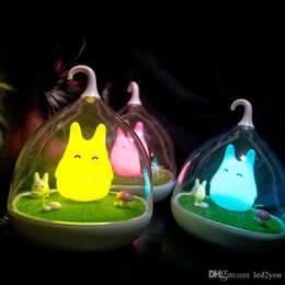 Wholesale Tables Party Children - Creative Lovely Birdcage LED Night Light USB Rechargeable Touch Dimmer Table bird light Portable Nightlamp for Children Baby