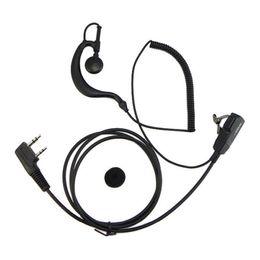 Wholesale Puxing Two Way Radios - Walkie Talkie Earpiece Headset For Baofeng UV-5R BF-888S KENWOOD WOUXUN QANSHENG PUXING H777 Two Way Radio C0139A Fshow