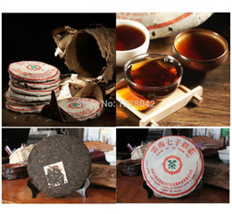 Wholesale Ripe Honey - Made in1978 ripe pu er tea,357g oldest puer tea,ansestor antique,honey sweet,,dull-red Puerh tea,ancient tree freeshipping